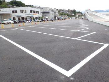 舗装(駐車場)
